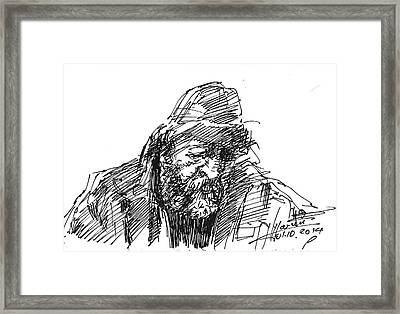 Homeless Framed Print