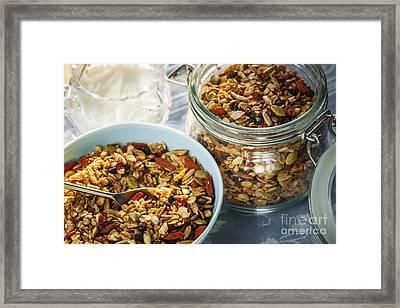Homemade Granola Framed Print