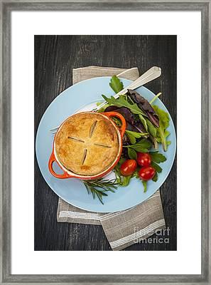 Homemade Potpie Framed Print