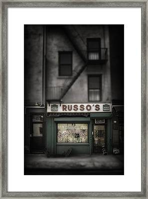 Framed Print featuring the photograph 'homemade' by Russell Styles