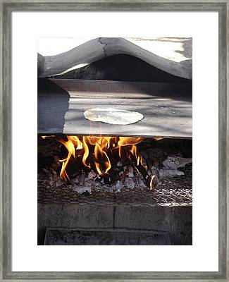 Framed Print featuring the photograph Homemade Tortillas by Kerri Mortenson