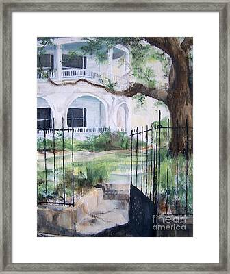 Homeplace Framed Print by Mary Lynne Powers