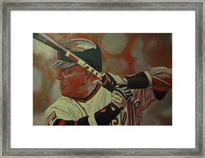 Homerun King Framed Print by Paul Smutylo