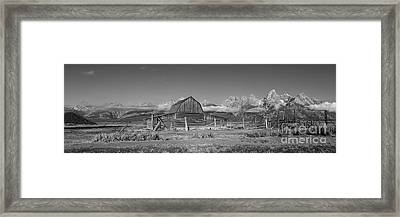 Homestead 101 Framed Print