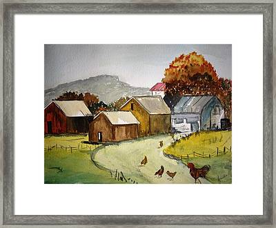 Homestead 2 Framed Print