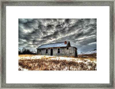 Framed Print featuring the photograph Homestead 2 by Kevin Bone