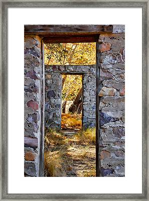Homestead Framed Print by Beverly Parks