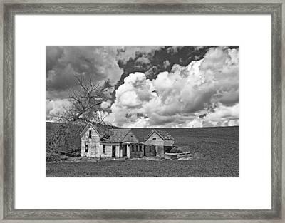 Homestead Blues Framed Print by Latah Trail Foundation