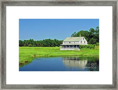 Homestead Framed Print by Charles Dobbs