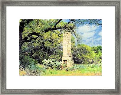Forgotten Homestead  Framed Print by Janette Boyd
