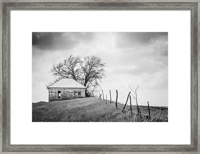 Homestead Hill  Framed Print