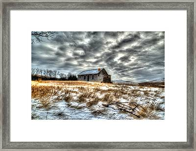 Framed Print featuring the photograph Homestead by Kevin Bone