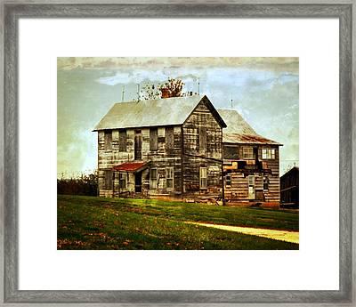 Homestead Framed Print by Marty Koch