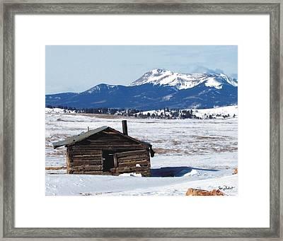 Homestead Neglect Framed Print