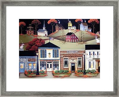 Hometown America Framed Print by Catherine Holman