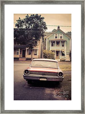 Hometown Usa Framed Print