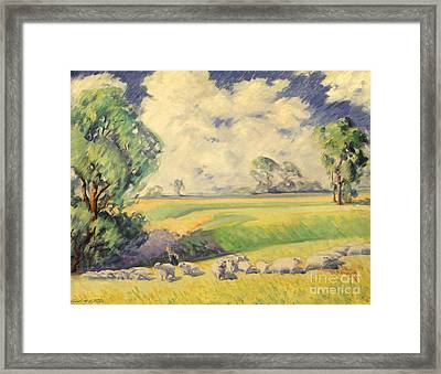 Homeward Bound 1936 Framed Print