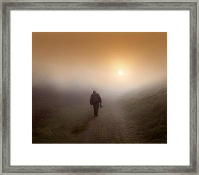 Homeward Bound Framed Print by Adrian Campfield