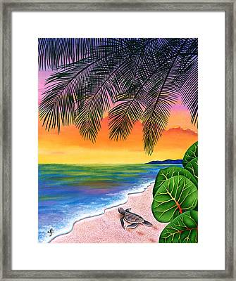 Homeward Bound Framed Print by Carolyn Steele