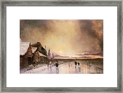 Homeward Bound Framed Print by J van Hall