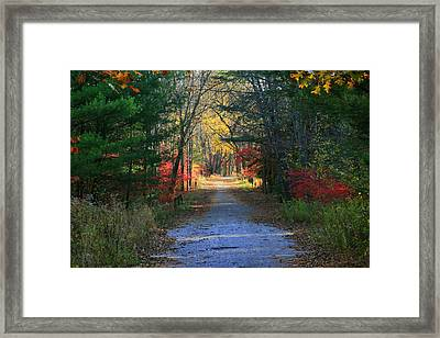 Framed Print featuring the photograph Homeward Bound by Neal Eslinger