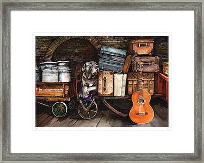Homeward Bound Framed Print