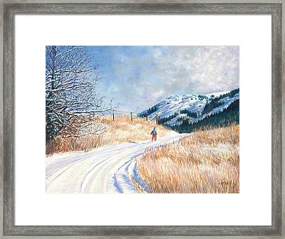 Homeward Framed Print