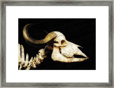 Framed Print featuring the mixed media Hommage A La Georgia by Sandy MacGowan