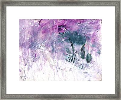 Hommage Framed Print by Ron Richard Baviello