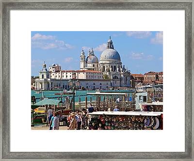 Hommage To Canaletto  Framed Print by Ira Shander