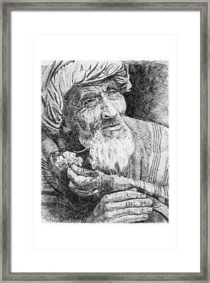 Homo Sapiens Vi Framed Print by Mike Walrath