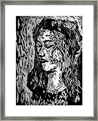 Homoface #11 Framed Print