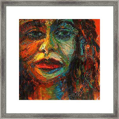 Homology #9 - The Rest I Have Told You Already Framed Print by Alfredo Gonzalez