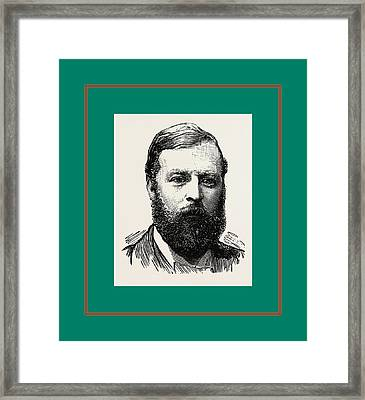 Hon. A. De Tatton Egerton, M.p. St. George, Hanover Square Framed Print by English School