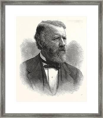 Hon. Albert G. Porter, Governor-elect Indiana Framed Print
