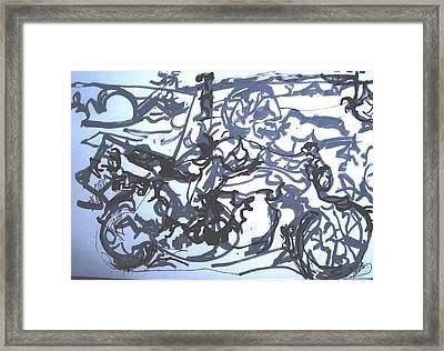 Honda 1000 Framed Print