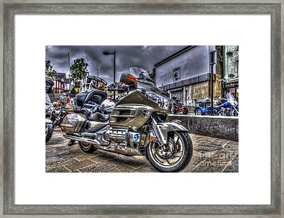 Honda Goldwing 2 Framed Print