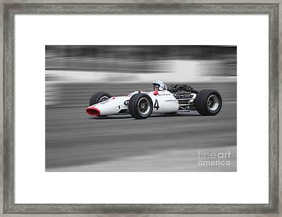 Honda Ra300 F1 Framed Print
