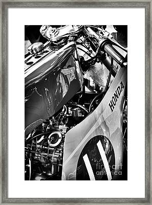 Honda Rc Framed Print by Tim Gainey
