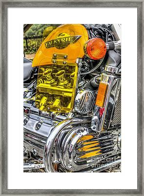 Honda Valkyrie 1 Framed Print by Steve Purnell