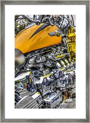 Honda Valkyrie 3 Framed Print by Steve Purnell