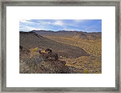 Hondo Wash Framed Print by Lee Scott