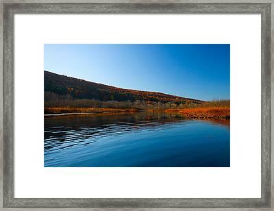 Honeoye Lake Inlet Framed Print by Steve Clough