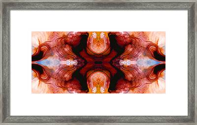 Honesty - Visionary Art By Sharon Cummings Framed Print by Sharon Cummings