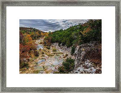 Honet Creek 2 Framed Print