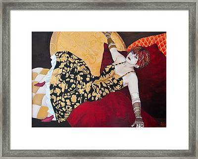 Honey Bane Framed Print by Joanna Lee