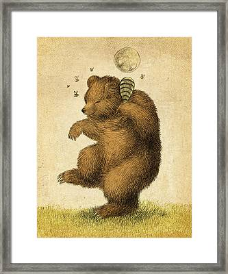Honey Bear Framed Print by Eric Fan