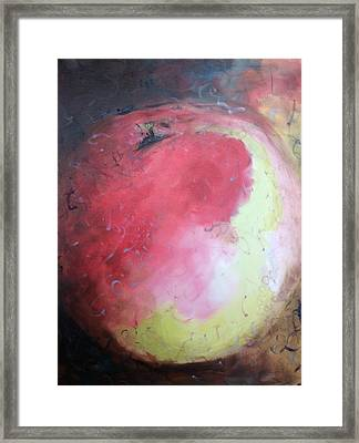 Honey Crisp Framed Print