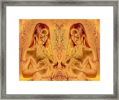 Honey Goddess 2011 Framed Print by James Warren