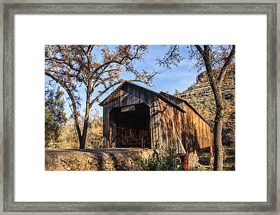 Honey Run Covered Bridge 1894 Framed Print
